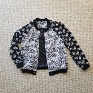 free people - Floral Bomber Jacket